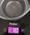 180g filtered water