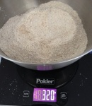 320g Organic whole wheat flour