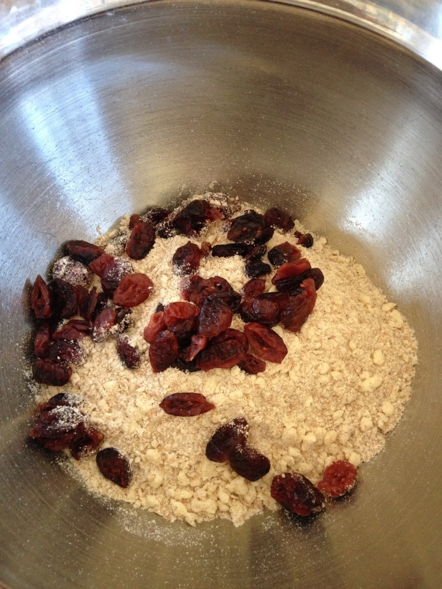 7. If adding cheese, chopped vegetables or dried fruit, add them now and mix to distribute evenly
