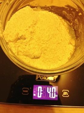 4 ounces Bob's Red Mill Organic Stone Ground Whole Wheat flour