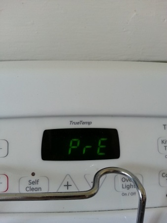 Pre-heat the oven to 450º F