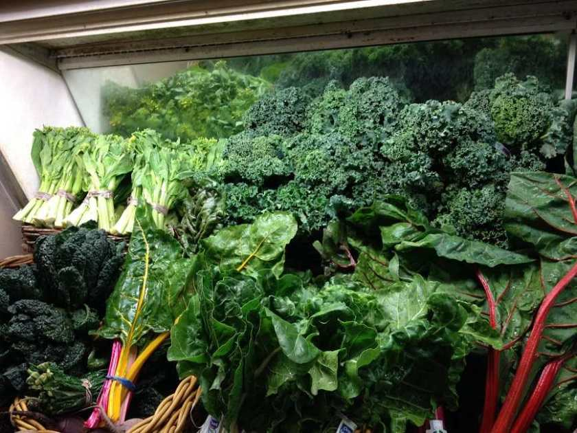 You'll find lots of calcium-rich foods in the green and leafy section of your grocer's produce aisles