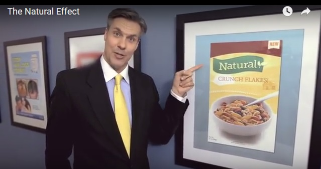 "For a little foodie humor, watch ""The Natural Effect"""