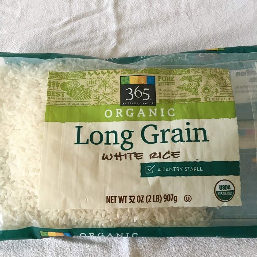 This is the rice I used, same as the rice I used in January